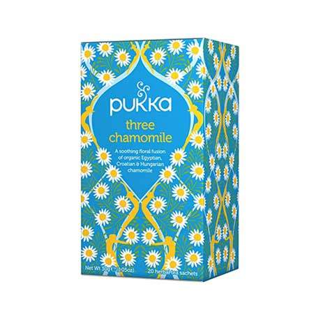 Pukka Three Camomile Tea Product Image