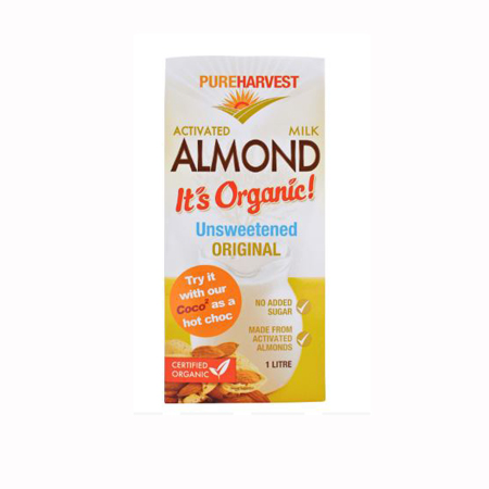 Pureharvest Activated Almond Milk - Unsweetened Product Image
