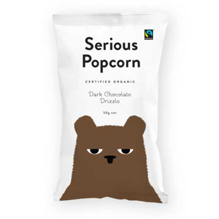 Serious Popcorn Chocolate Drizzle Popcorn Product Image