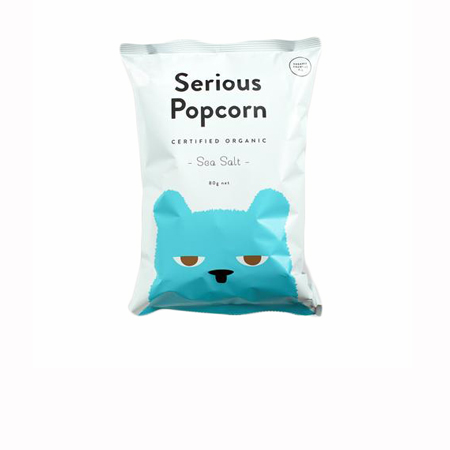 Sea Salt Serious Popcorn Product Image