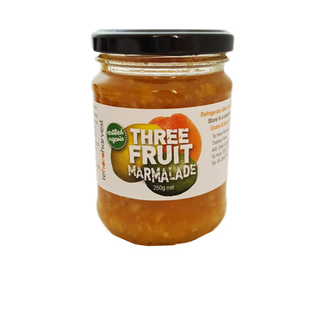 Te Horo Harvest's Three Fruit Marmalade Product Image