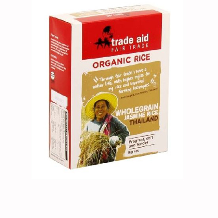 Trade Aid Wholegrain Jasmine Rice Product Image