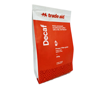 Trade Aid Decaf Medium Grind Coffee Product Image