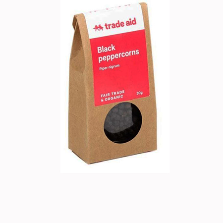 Trade Aid Whole Black Peppercorns Product Image
