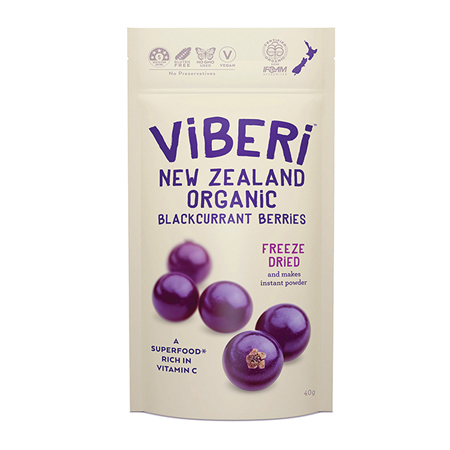 Viberi Freeze-Dried Blackcurrants Product Image